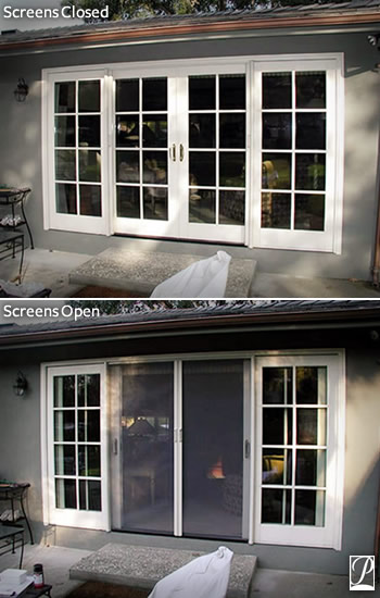 Phantom screens for doors products for Phantom sliding screen doors
